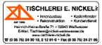 Tischlerei E. Nickel Gmb H & Co. KG