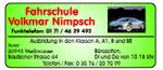Fahrschule Nimpsch