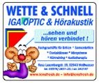 Wette & Schnell IGA Optik & Hörakustik