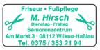 Friseur • Fußpflege Hirsch
