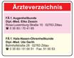 Ärzteverzeichnis Zittau